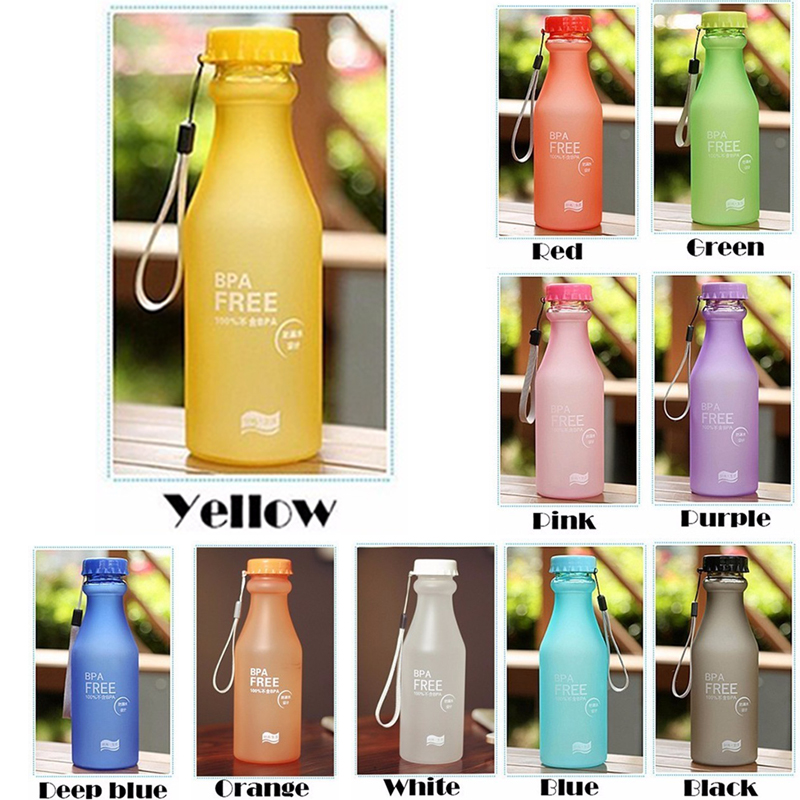 550ml Korean Water Bottle Bpa Free Unbreakable Water Bottles