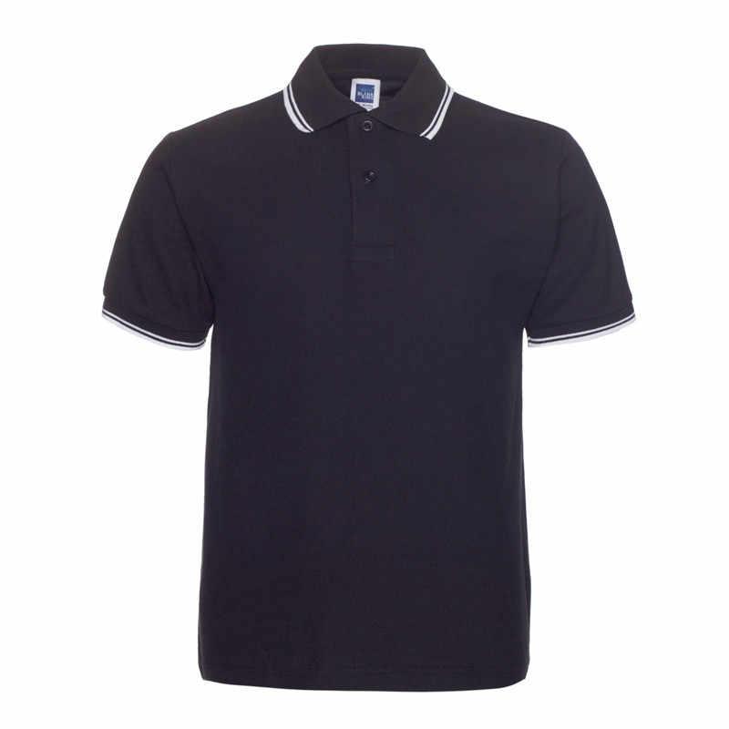 Polos Shirt New Style Fashion Turn-down Collar Polos Shirt Men Casual Cotton Short Sleeve Polos Para Hombre Plus Size XXXL
