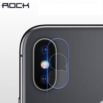 2e45fa866 2 piezas de cámara de 0,15 MM Len cristal templado de película para iPhone  X Cámara ROCK de vidrio Protector para iPhone X lente de la Cámara 2  paquetes