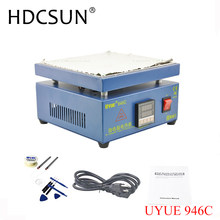UYUE 110/220V 800W 946C 200x200mm Electronic Hot Plate Preheat Preheating Station For BGA PCB SMD Heating Led lamp desoldering(China)