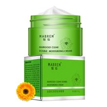 1Pcs 35g Calendula Double Moisturizing Face Cream Anti-Aging Whitening Wrinkle Removal Repair pores Relieves Rough And dry Skin