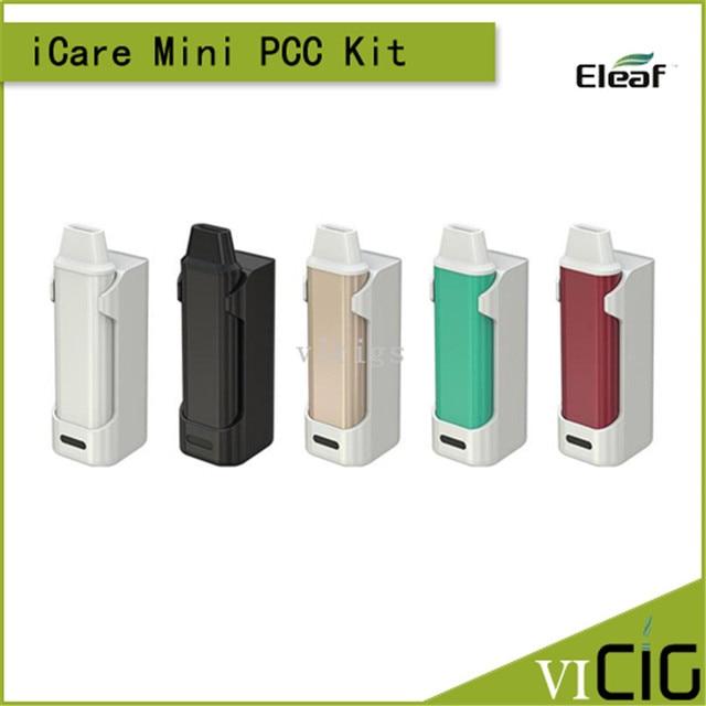100% Оригинал Eleaf икар Мини PCC Комплект 1.3 мл Жидкости Емкость и 320 мАч Емкость Starter Kit с 2300 мАч PCC