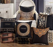 Luxury Royal Printed Pillows Cover 45x45cm