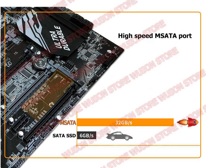 جديد وصول رونينغ X79 اللوحة 8 RAM فتحات ماكس 8*16 جرام 1866 الذاكرة وحدة المعالجة المركزية زيون E5 2650 C2 SROKQ RAM 32 جرام (4*8 جرام) 1600 ميجا هرتز DDR3 RECC