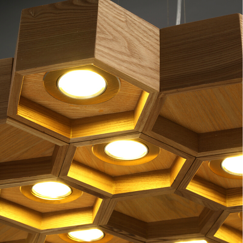 wood lighting. aliexpresscom buy slatted wooden structure pilke series honeycomb pendant lamps by light suspension wood lighting from reliable h