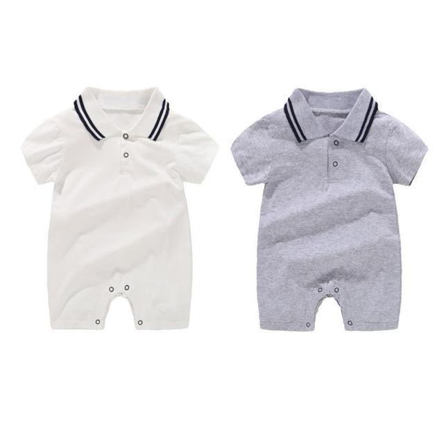 Jumpsuit Tanpa Lengan Musim Panas Baby Boy 2