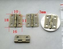 100PCS/LOT  High Quality Antique Brass Jewelry Box Hinge 18*16