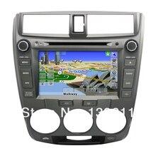 ZESTECH central multimedia Car DVD GPS for Honda City 2008 CAR dvd player with radio gps navi, digital tv optional