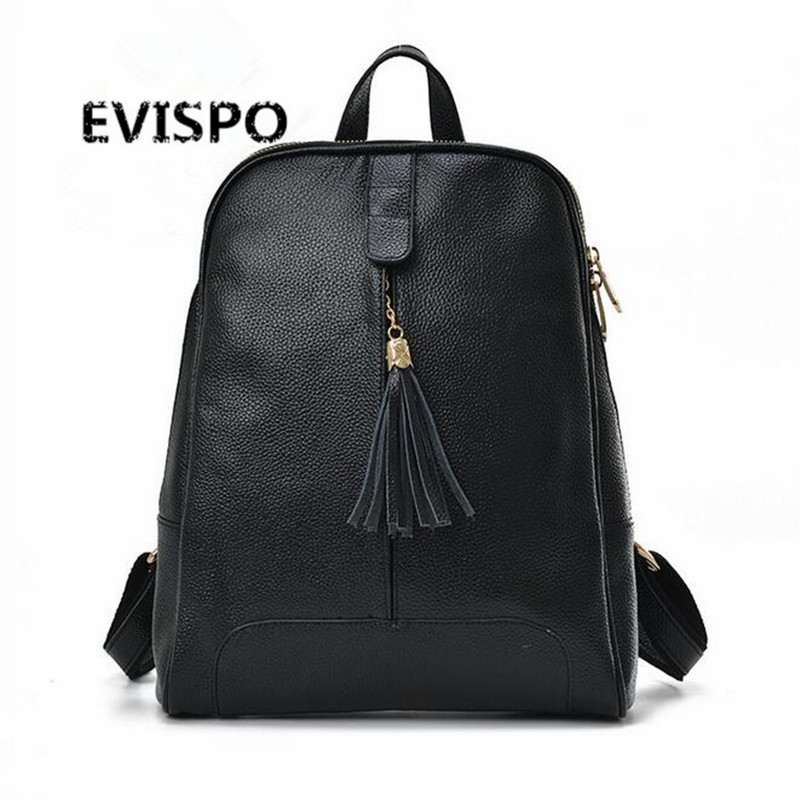 New Fashion Designer Genuine Leather Backpack Women Bag Knapsack Ladies for Teenagers Sac a Dos Female Rucksack Mochila Feminina women genuine leather backpack luxury soft solid large capacity school bag ladies travel backpacks sac a dos mochila 2017 new