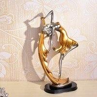 13 Resin Ballet Dance Girl Art Sculpture Home Decro For Living Room Bedroom Creative Table Figurine Gift