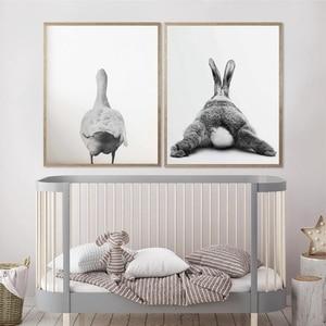 Rabbit Tail Goose Bunny Prints