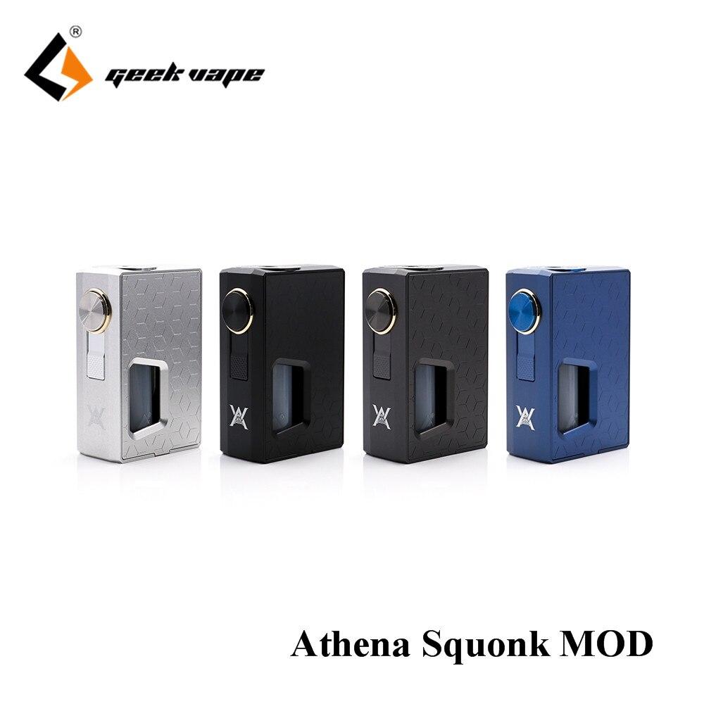 Big verkauf Original GeekVape Athena Squonk Mod mit 6,5 ml Squonk Flasche Elektronische Zigarette Weipa Unterstützung Squonk RDA TANK