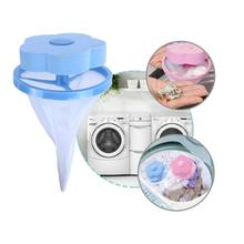 Форма цветка фильтр из сетчатой ткани Прачечная мяч плавающий стиль стиральная машина фильтрации удаления волос устройства Инструменты для уборки дома