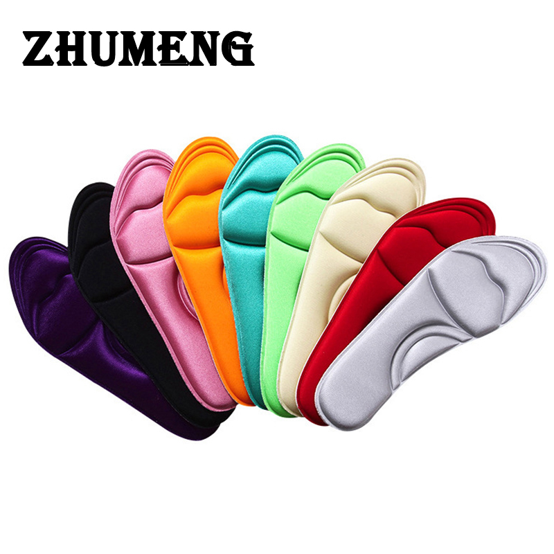 ZHUMENG 2 Pairs Memory Foam Insole Custom Foot Massage Insoles Plantar Plantillas Pies Memory Foam Insole Scholls Insoles Women 10 pairs once time free shipping 2015 newest memory foam insole custom foot massage insoles women and men shoes insole