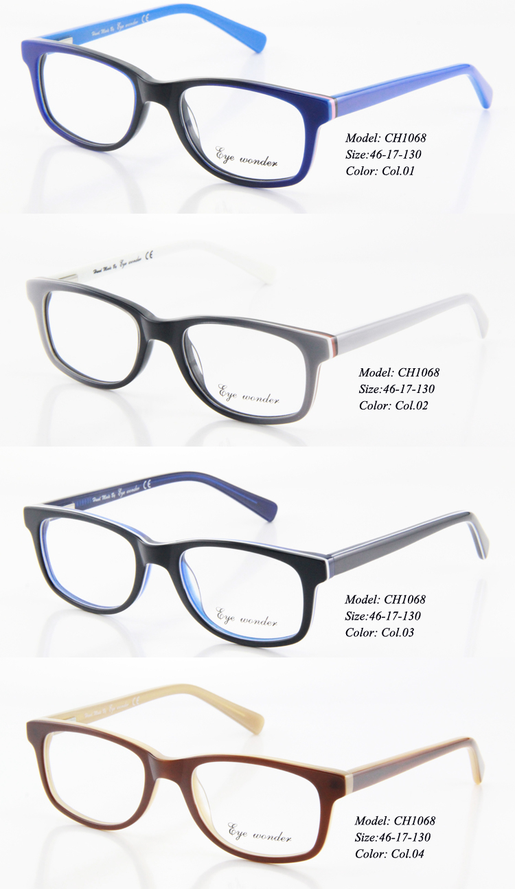 c5f6746482 Eye wonder Handmade Acetate Kids Glasses Eyewear Baby Boy Frames  Lunettes-in Eyewear Frames from Apparel Accessories on Aliexpress.com