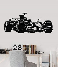Vinyl wall stickers Formula One racing sports car enthusiasts youth room shool dormitory home decoration wall decal 2CE15