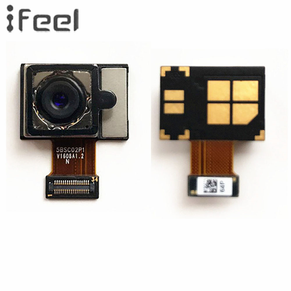IFEEL Repair Parts For HTC One M10 M10H Assembly Big Back Rear Main Camera Module Lens Flex Cable Replacement With Free Shipping