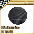 Ajuste de combustible Tapa Cubierta PARA Hyundai Veloster Carbon Fiber Gamma Turbo TCi GDi MPi Coche Accesorios Car Styling