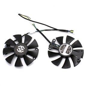 Image 2 - New 85mm 4Pin Cooler Fan Replace For ZOTAC GTX1060 6GB GTX1050 Fan GTX1050Ti GTX 1060 Graphics Card Cooling Fan