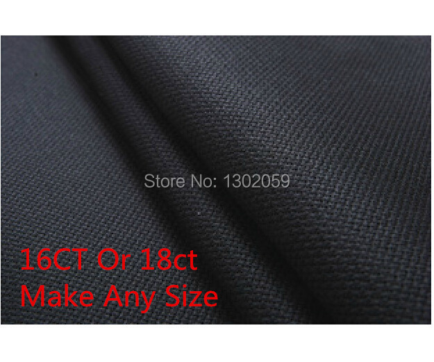 US $10 74 21% OFF|Factory Shop 50X50cm Embroidery Cross Stitch Fabric  Canvas Aida Cloth 16CT Or 18CT-in Aida Cloth from Home & Garden on