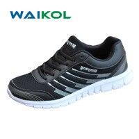 Waikol Hafif Nefes Örgü Erkek Rahat Ayakkabılar Promosyon Indirimler Erkek Ayakkabı Artı Boyutu
