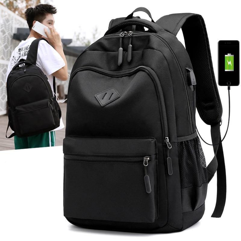 Upgraded USB Charging Laptop Backpack Waterproof Men's Backpacks Large Capacity School Bag Women Travel Bag For Teenager Mochila