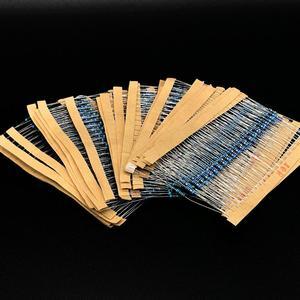 Набор металлических пленочных резисторов, набор светодиодных диодов, электролитический конденсатор, керамический набор транзисторов, набор электронных компонентов diy