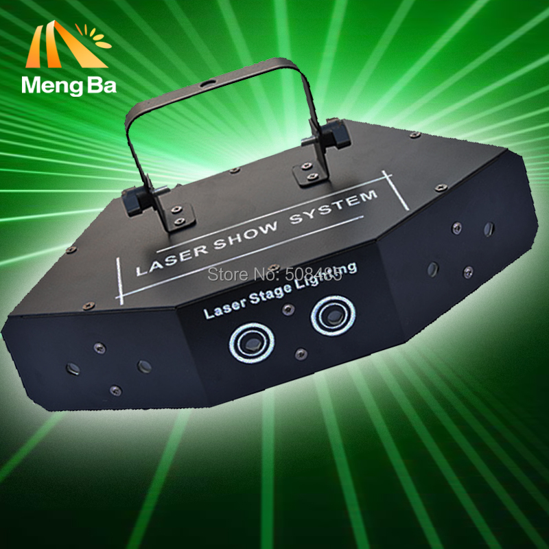 6 Eyes Laster Light Professional RGB Laser Light DMX Stage Light for Disco Dance halls Bars KTV Nightclub Wedding Family Party