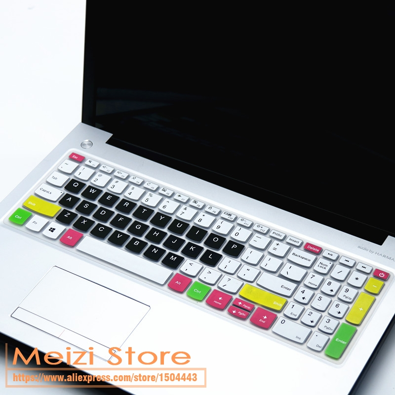 for Lenovo Ideapad 330 320 320 17 330 17 17.3 Hd I5 8250U 17 Inch Laptop Notebook Keyboard Cover Skin Protector-Candyblack