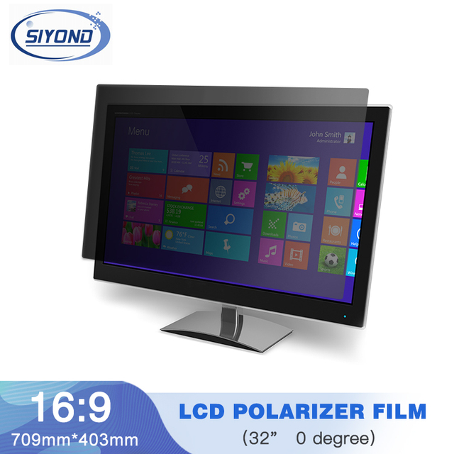 1PC New 32inch 0 degree Matte 715MM*410MM LCD Polarizer Polarizing Film for LCD LED IPS Screen for TV