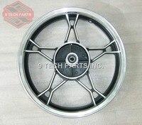 OEM QUALITY GN250 REAR ALUMINUM WHEEL RIM COMPLETE Wheel Size 2 15 16