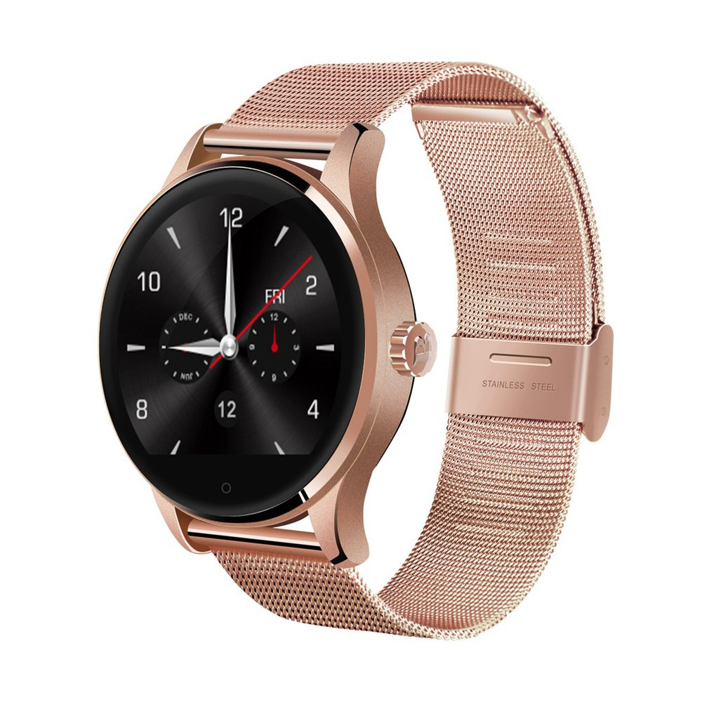 2018 K88H Smart Watch Track Wristwatch Bluetooth Heart Rate Monitor Pedometer Dialing Smartwatch Phone For Android IOS colmi k88h bluetooth smart watch classic health metal smartwatch heart rate monitor for android ios phone remote camera rrim