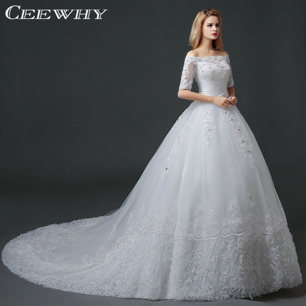 Popular White Ball Gowns with Tulle-Buy Cheap White Ball Gowns ...