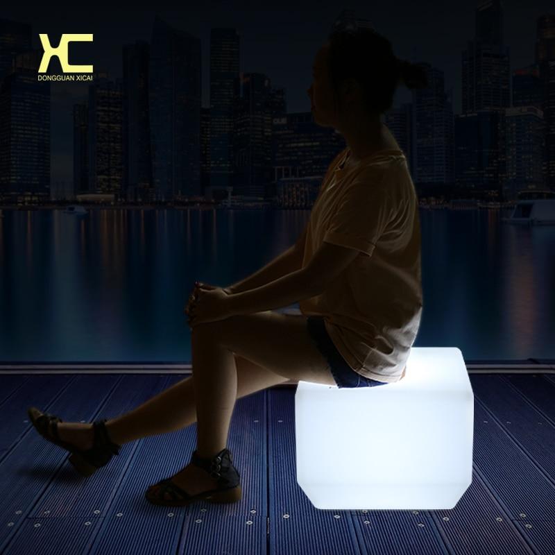 led bar stool PE chairs ip65 outdoor wireless control цена 2017