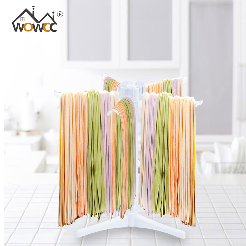 Pasta Drying Rack Collapsible Fettuccine Noodles Drying Spaghetti Hand Noodle Maker Hanging Stand Holder For Kitchen Pasta Tool image