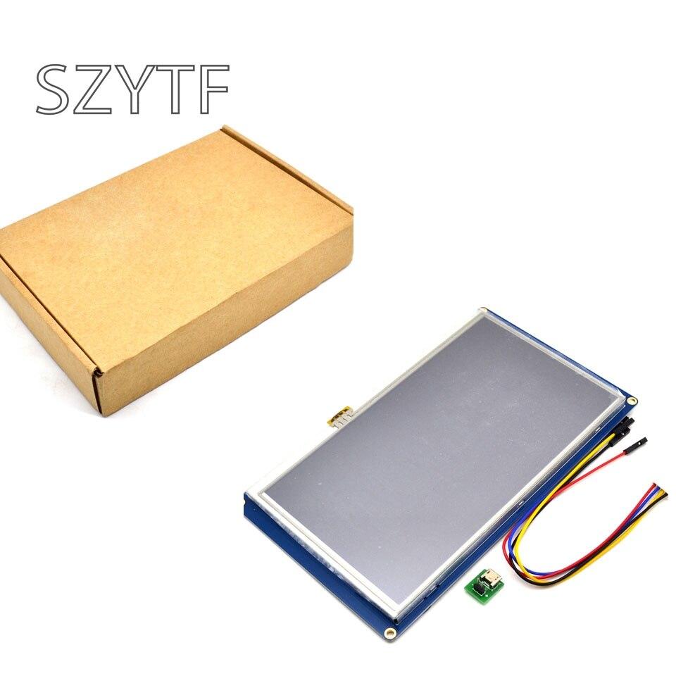 Nextion 7.0 Pouce TFT Écran Tactile 800x480 UART HMI Intelligente Smart LCD Module Affichage Panneau Pour Raspberry Pi