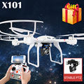 100% Original MJX X101 RC Quadcopter Profession Drone UAV 2.4G 6-Axis Headless Helicopter Can Add C4018 C4010 WIFI FPV HD Camera
