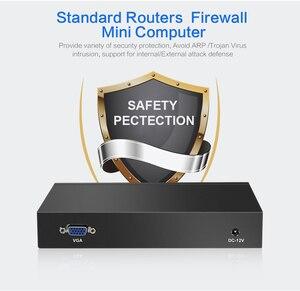 Image 4 - Intel Celeron 1037U güvenlik duvarı cihazı 6 LAN Intel i211AT Gigabit Ethernet RJ45 VGA 2xUSB 3.0 Pfsense yönlendirici Mini PC