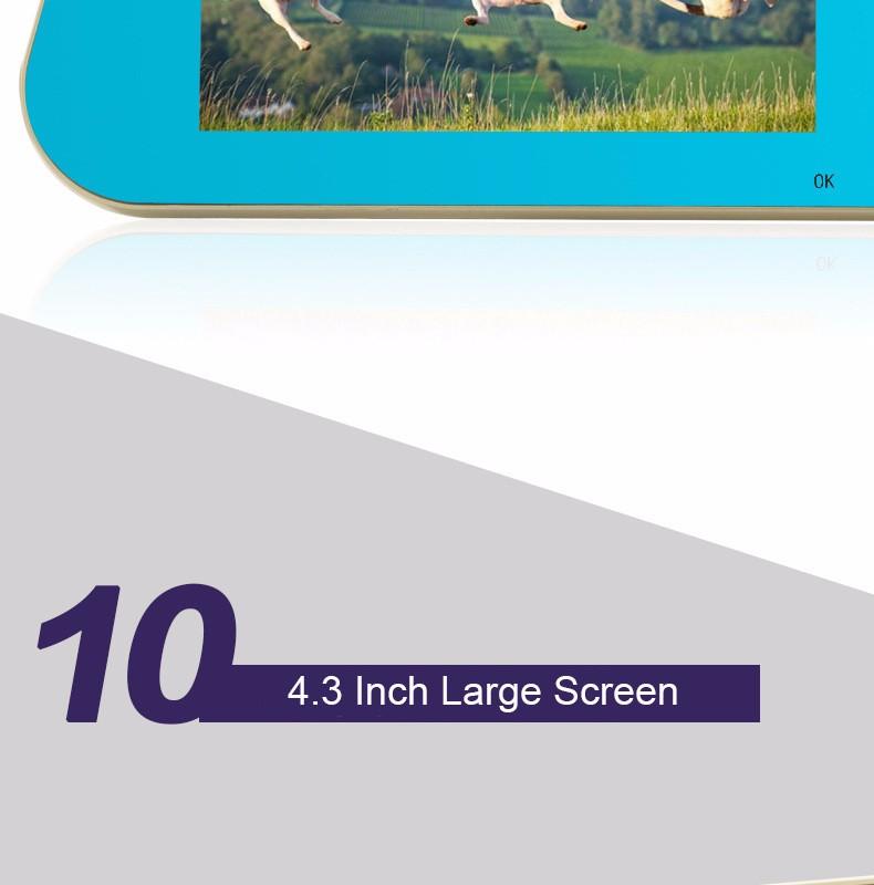 Jansite 1080P Car Dvr Blue Review Mirror Dual Lens Car Camera two cameras Loop record Recorder Auto Registrator Camcorder 21
