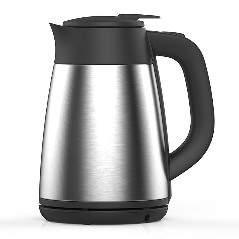 Electric kettle Vacuum insulated electric double 304 stainless steel home proof stainless steel insulated vacuum mug silver 350ml