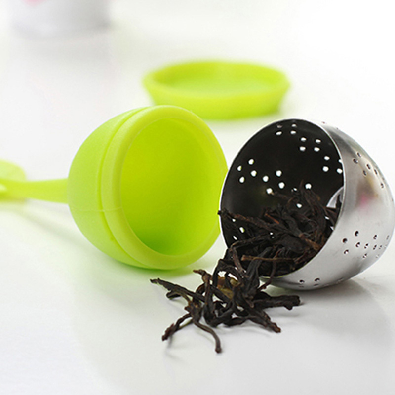 Top Selling Warehouse Price Sweet Leaf GENUINE Tea Infuser  Best for Loose Leaf Herbal or Gift Green Color  MTY3