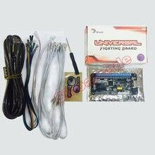 Аркадная Нулевая задержка Универсальный USB энкодер симулятор доска для MAMA Jamma ПК для Xbox One/Xbox 360/PS4/PS3/wii U/PC Поддержка Turbo