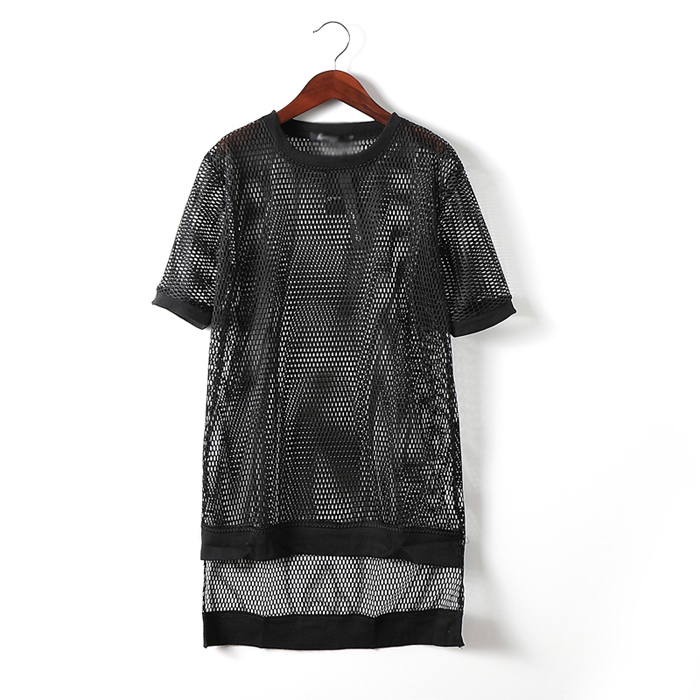 T 2 Hommes Conception Chanteur Net Transparent Sexy 2016 Style Découpe Courtes 1 De Manches Costumes Maille style Costume À Longue Mâle Lâche Vêtements shirt awdqg