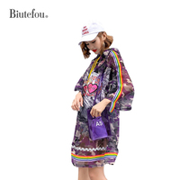 2018 Summer sunscreen clothes fashion sequined patchwork thin dresses women camouflage hooded dresses