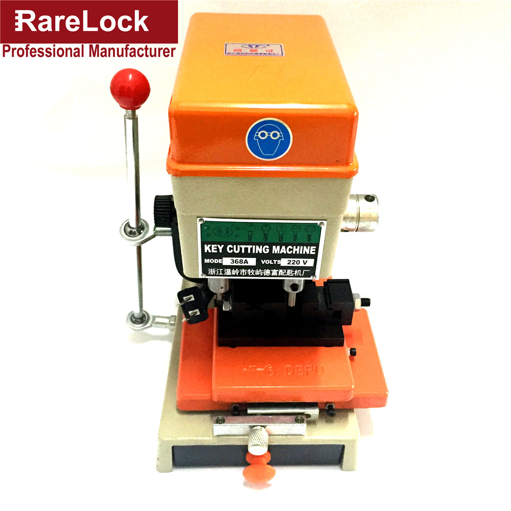 Rarelock 368A Locksmith Supplies Tools Lock Pick Set Professional Duplicated Car Door Key Cutting Copy Machine a