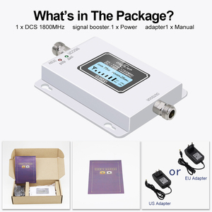 Image 5 - GSM LTE 1800 LCD 70dB Gain 2g 4g Cell Phone Signal Repeater DCS 1800MHz Mobile Amplifier GSM Cellular Signal Booster for Russia
