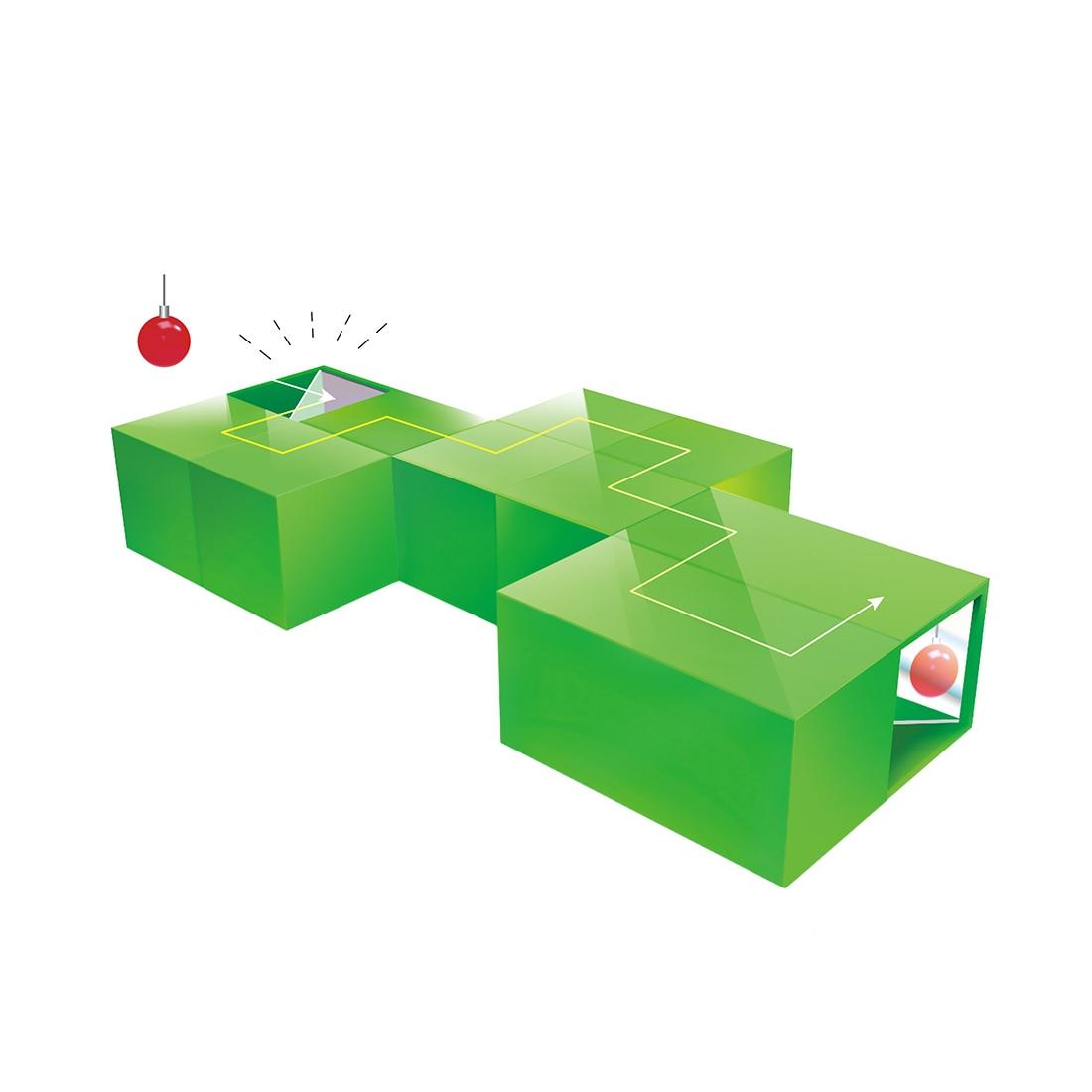 Surwish niños 12 piezas Óptica Física Ciencia módulo Educatioal vástago juguetes apoyo niños las manos-en la capacidad Kits de desarrollo
