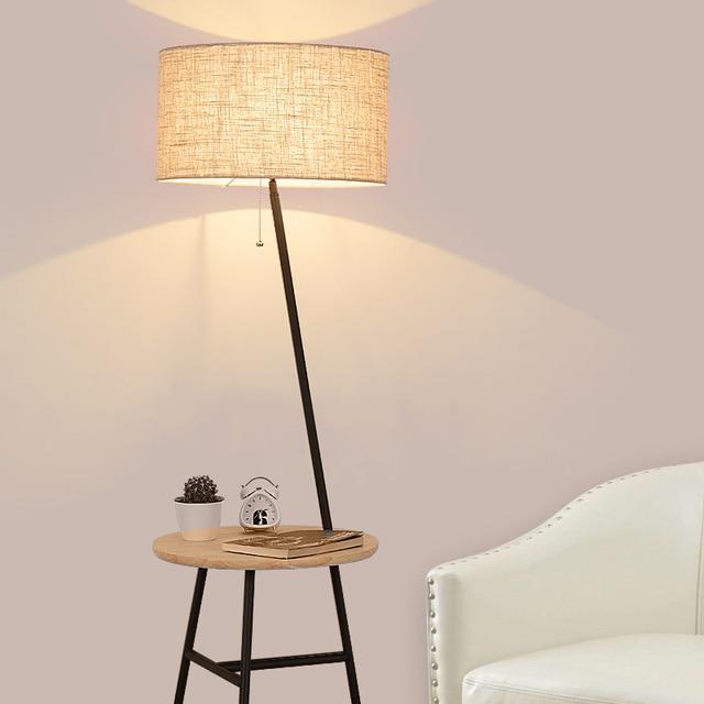 2019 new Modern Floor lamp living room standing lamp bedroom floor ...