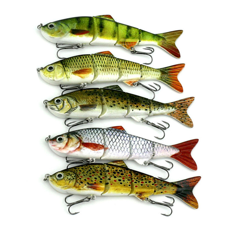 Lot 1 pcs Kinds of Fishing Lures Crankbaits Hooks Minnow Baits Tac Fish Equipment Outdoo ...