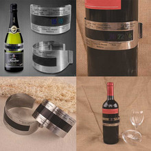 Homebrewing Wine Beer Stainless-Steel Red for Bracelet Temperature-Sensor Temperature-Sensor